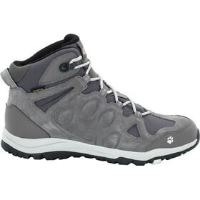 Jack Wolfskin Rocksand Texapore Mid-Cut Schuhe Damen grey haze